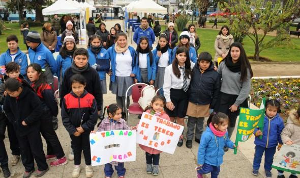 Municipio de Viña del Mar adhirió a conmemoración mundial contra el trabajo infantil con feria temática