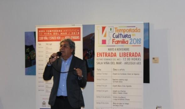 Municipio de Viña del Mar invita revivir la música romántica con Rubén Gálvez durante Temporada de Cultura en Familia