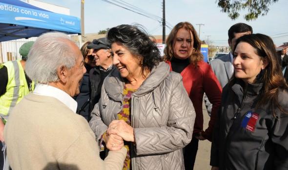 Cuatro plazas ciudadanas de servicio de Gobierno en Terreno se realizarán en Viña del Mar confirmó alcaldesa Virginia Reginato