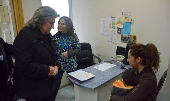 Salud Primaria de Viña del Mar está operativa para atender patologías de invierno destacó alcaldesa Virginia Reginato