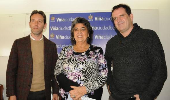 Fox Networks Group presentó propuesta a alcaldesa Virginia Reginato, socio que dispondrá toda su programación en beneficio de Viña del Mar y el Festival de la canción