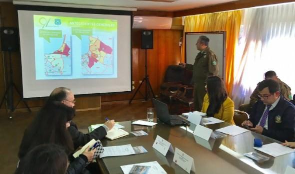 Reposición de luminarias y ordenamiento del centro destaca en gestión del Consejo de Seguridad Pública de Viña del Mar