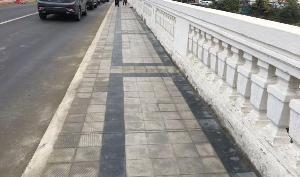 Concluye 1ª fase de reposición de aceras en calles y puentes del centro de Viña del Mar