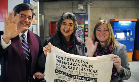 Con intervención en centro de Viña del Mar se celebró Día mundial sin bolsas plásticas
