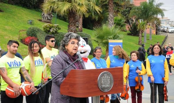 Viña del Mar será todo un panorama en estas vacaciones de invierno, informó alcaldesa Virginia Reginato