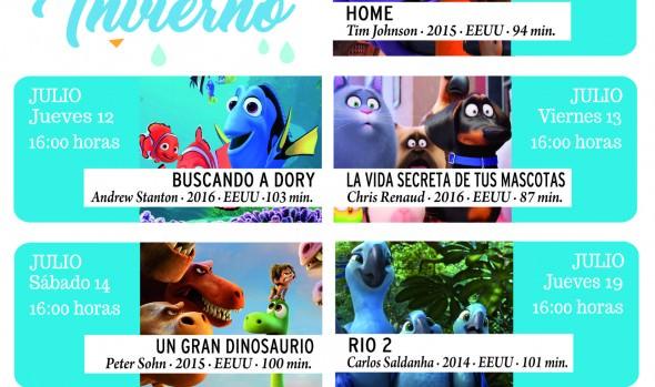 Municipio de Viña del Mar invita a cine infantil en vacaciones de invierno