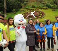 Alcaldesa Virginia Reginato invita a Viña en invierno: Todo un panorama