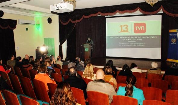 Rol del Festival de la Canción como principal promotor turístico de Viña del Mar destacó alcaldesa Virginia Reginato