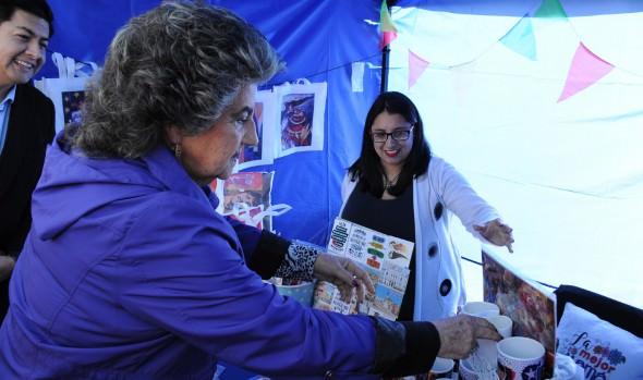 """Proyecto """"Viña emprende contigo"""" inauguró alcaldesa Virginia Reginato"""