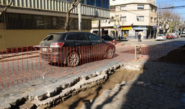 Municipio de Viña del Mar repara tramo deteriorado de calle San Antonio