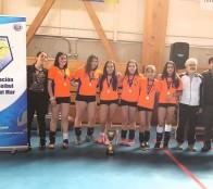 Escuela de vóleibol de la Casa del Deporte de Viña del Mar tuvo brillante actuación en torneo apertura de Avolviña 2018