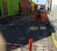 Municipalidad de Viña del Mar inició obras de reposición de calle San Luis
