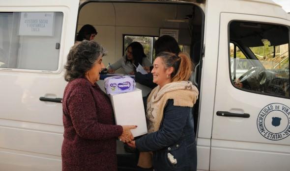 Municipio benefició a familias de Villa La Pradera con operativo médico-social