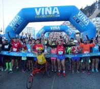 En Viña del Mar aficionados al running corrieron combinando el pavimento y la arena