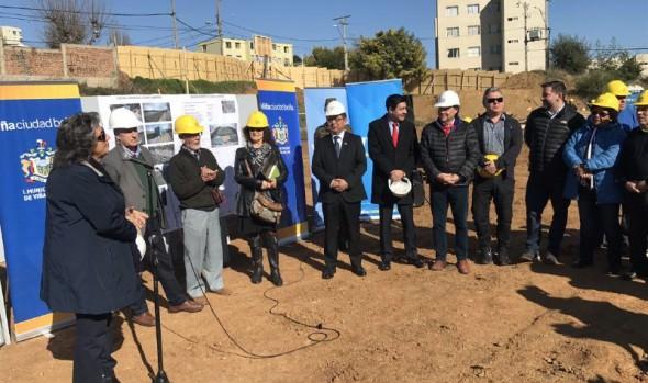 A 2ª etapa de construcción del complejo deportivo Gómez Carreño dio inicio alcaldesa Virginia Reginato