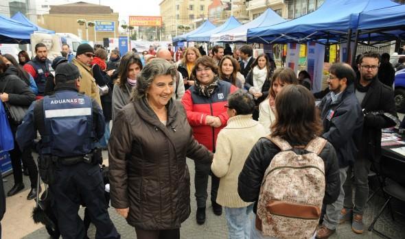 34 servicios municipales y de gobierno atendieron en terreno a la comunidad