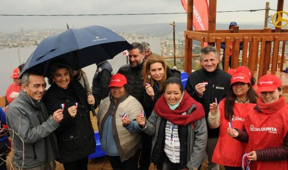 Campamento de Viña del Mar es el primero del país que inicia proceso de urbanización de redes de alcantarillado y agua potable