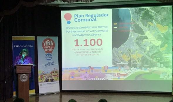 Municipalidad de Viña del Mar inicia proceso de participación ciudadana en actualización del Plan Regulador