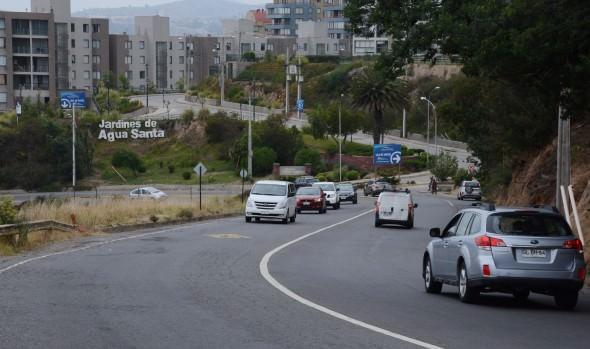 Municipio de Viña del Mar llamó a licitación para estudio de prefactibilidad de mejoramiento de variante Agua Santa