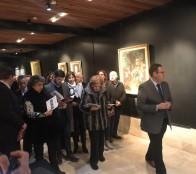 Colección de pinturas del Palacio Vergara inauguró alcaldesa Virginia Reginato en Museo de Bellas Artes de Valparaíso