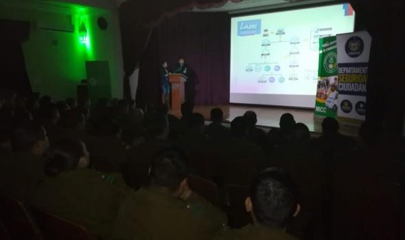 Municipio de Viña del Mar potencia trabajo colaborativo con Carabineros a través de jornadas de capacitación