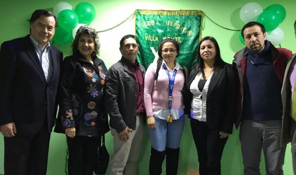 Nueva sede de club deportivo Villa Monte fue inaugurada por alcaldesa Virginia Reginato