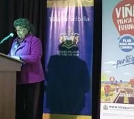 Alcaldesa Virginia Reginato destaca que Viña piensa su futuro