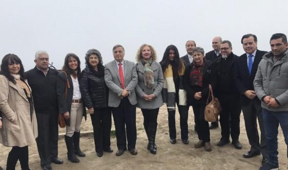 Alcaldes de Viña del Mar y Concón solicitan al Gobierno mejorar camino costero y seguridad para usuarios