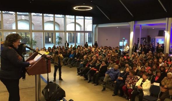 Alcaldesa Virginia Reginato destacó labor de los dirigentes vecinales de Viña del Mar