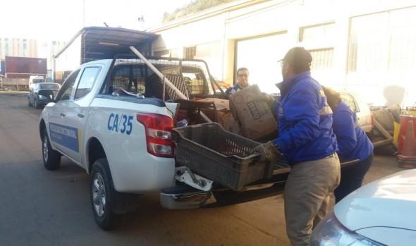 Municipio continúa intenso plan de fiscalización contra el comercio ambulante ilegal