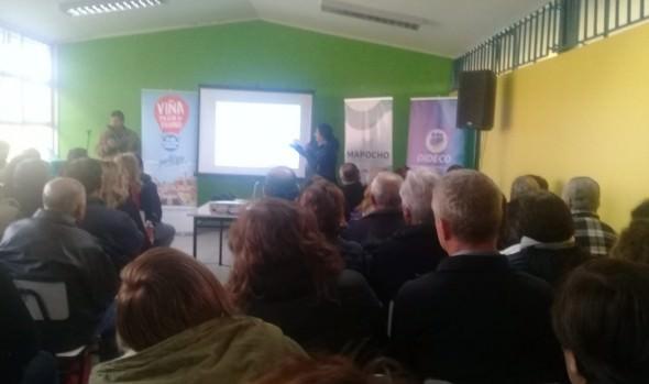 Con gran interés de los vecinos se inició participación ciudadana en actualización del Plan Regulador Comunal de Viña del Mar