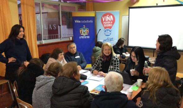 Exitosa convocatoria generaron talleres de participación ciudadana en actualización del Plan Regulador Comunal de Viña del Mar