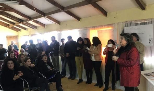 Apoyo a familias del comité Los Montes, Parcela 11 para obtener sus viviendas, reiteró alcaldesa Virginia Reginato