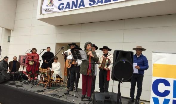 Con encuentro de cueca CESFAM de Gómez Carreño promueve la actividad física