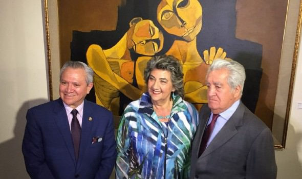 En Palacio Rioja y Sala Viña del Mar se exhibe exposición de Guayasamín que inauguró alcaldesa Virginia Reginato