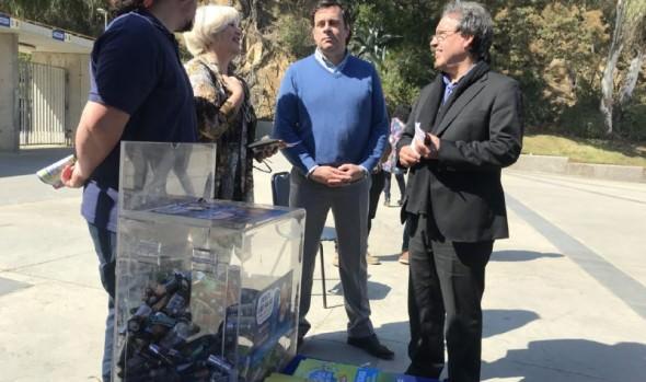 Municipio de Viña del Mar refuerza campaña para reciclar pilas en la comuna