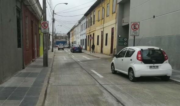Municipio de Viña del Mar informa habilitación al tránsito vehicular de Calle San Luis