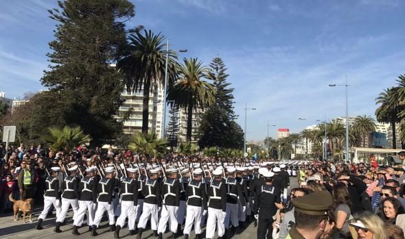 Municipalidad de Viña del Mar invita a presenciar desfile de Carabineros y Armada en Fiestas Patrias