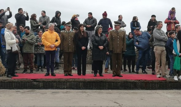 Carabineros realizó inédito desfile en Viña del Mar