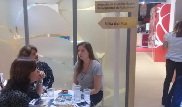Viña del Mar promueve sus atractivos en Feria Internacional de Turismo en Buenos Aires