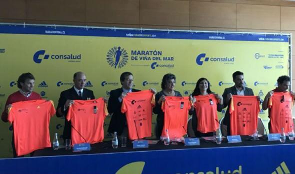 11 mil corredores tomarán parte en 6ª edición del Maratón de Viña del Mar