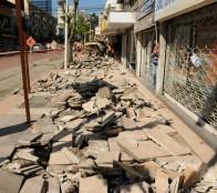 Municipio de Viña del Mar inició obras de reposición de aceras en último tramo de calles céntricas de Viña del Mar
