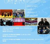 """Municipalidad de Viña del Mar invita a 5º Encuentro internacional de coros y grupos vocales """"Únicos en su género"""""""