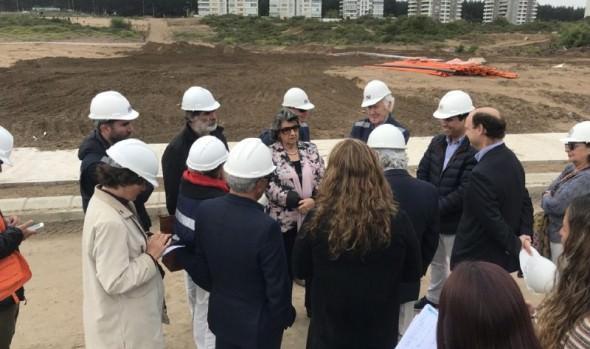 Viña del Mar contará con nuevo pulmón verde de 28 mil m2 con parque urbano que se construye en Reñaca