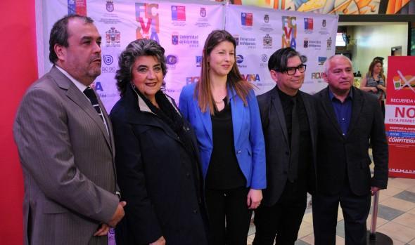 Homenaje a Paulina García marcó inauguración del Festival Internacional de Cine de Viña del Mar