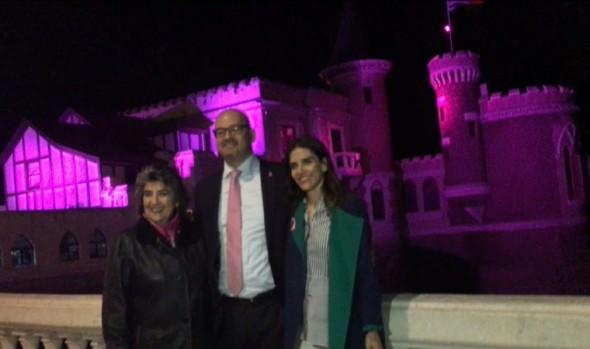 Viña del Mar ilumina edificios emblemáticos para sumarse a campaña mundial contra el cáncer de mama