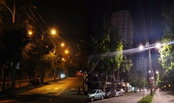 Municipio de Viña del Mar avanza en mejoramiento de iluminación en Población Vergara