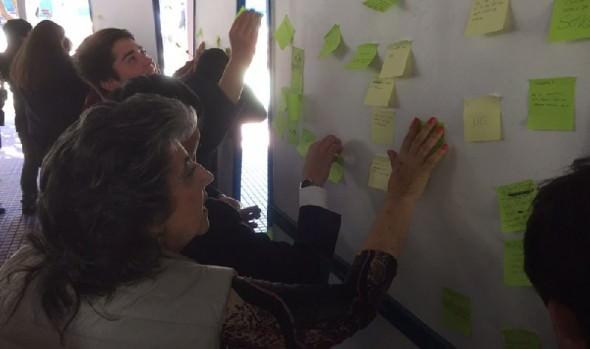 Autoridades mantienen diálogo directo con alumnos para conocer su opinión sobre diversos temas