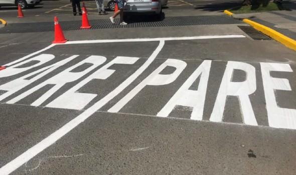 Municipio de Viña del Mar aumenta superficie de demarcación vial en la comuna con pintura termoplástica