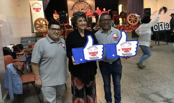 Reñaca Alto invitó a la comunidad a colaborar con la Teletón con maratón de cuecas
